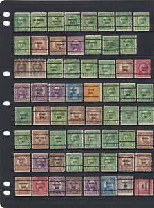USA Precancels Stamp Mix As Scans (2 Scans)