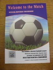 16/04/2014 Redhill League Saturday Intermediate Cup Final: Merstham Newton v Cha