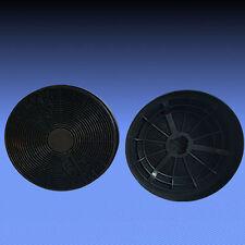 2 Aktivkohlefilter Kohle Filter für Neff D8902 WHITE, DKA38 NOSTALGIE SCHWARZ