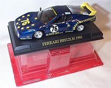 Ferrari BB512LM 1981Ch Pozzi JMS Racing no 76 1-43 scale new in pack