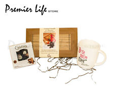 Mother's DAY GIFTS Spa Hot Rocks Pampering Gift  with Guylian  chocolate and Mug