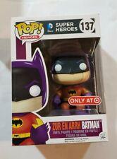 DC Heroes Zur En Arrh Batman Pop! Vinyl Figure #137 Funko Target + Protector