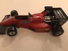 Burago Diecast Model Car - Formula 1 Ferrari 126 C4, scale 1:24