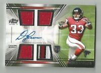 DEVONTA FREEMAN 2014 TOPPS PRIME LEVEL V ROOKIE RC 3 CLR JSY AUTO AUTOGRAPH