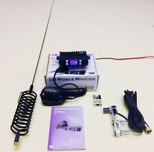 Team Radio CB Portable Mini Com Kit De Démarrage + Dard Antenne Guidon Plat kit