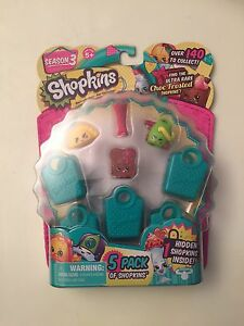 Shopkins 5-pack (Season 3) with 1 Hidden Shopkin inside