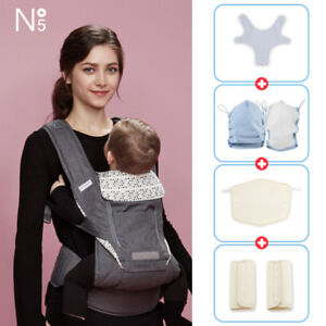 [POGNAE] NO5 PLUS all in one baby carrier-gray