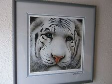 Will Bullas THE PALE PRINCE Signed Lithograph # 848 COA FRAMED Bengal Tiger