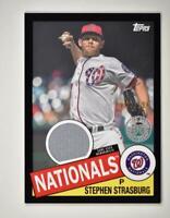 2020 Topps Series 2 1985 Baseball Relic Black #85TR-SS Stephen Strasburg /199