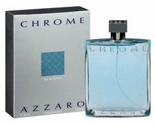 CHROME by AZZARO 6.8 oz Eau De Toilette Spray edt 6.7 Men Cologne 200 ml NEW NIB