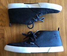 Ben Sherman~Bristol/Chukka Navy~Mens/Big Boys Mid Shoes Size 8~Mint Condition