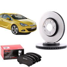 Kit Dischi e Pastiglie Anteriori Brembo Opel Astra Gtc J Astra J Zafira Tourer C