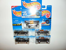 5) Hot Wheels Oscar Mayer 1957 Chevy Lot Diecast Silver Series Chrome Vintage
