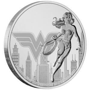 Niue - 2 Dollar 2021 - DC Comics™ - Wonder Woman™ (2.) - 1 Oz Silber ST
