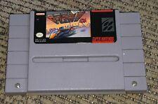 Old F-Zero Super Nintendo SNES Video Game Cartridge SNS-FZ-USA vintage ORIGINAL