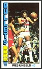 1976-77 Topps Basketball Wes Unseld #5 - Washington Bullets - Mint