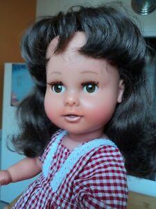 Grande poupée Raynal vintage,bi-matière,45 cm.Sortie grenier.Très bon état.