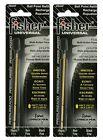 "Fisher Space Pen #SU4F Universal Refill / TWO (2) BLACK ""SU"" Series Ink Refills"