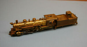 HOn3 scale United D&RGW 2-8-2 locomotive Japan brass