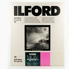 ILFORD 3.5x5.5in Darkroom Paper Glossy RC 25 Sheets MG4RC1M – BRAND NEW