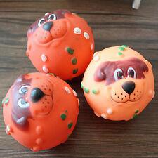 Pet Tough Treat Quietschendes Giggle Quack Sound Training Spielzeug Kauen Ball G