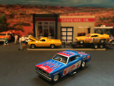 1:64 Hot Wheels LE Tom Mongoose McEwen Plymouth Duster Funny Car Blue Legends B