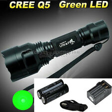 Ultrafire CREE Q5 LED Flashlight Torch Lamp+18650 Rechargeable Battery+Charger