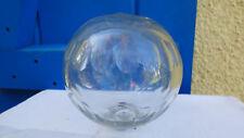 boule d'escalier ancienne cristal blanc  Baccarat,Saint-Louis sans socle