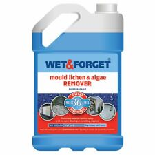 More details for wet and forget mould algae & lichen moss dirt removal 5l concentrate outdoor new