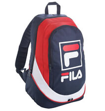 4dc5ab7a77 Authentic FILA Backpack in Classic Red White   Blue - Rucksack School Bag  Day