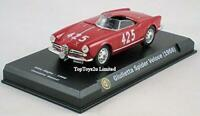 Sealed Official Alfa Romeo Guiletta Spider Veloce 1956 1:43 Diecast Collectors