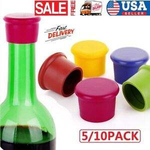 Reusable Silicone Wine Bottle Stopper Beverage Bottle Stoppers Wine Sto RASBBB