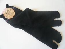 Japanese Floral Flip Flops Tabi Socks/ US Size 5 to 7/ 22cm to 24cm/Black
