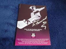 SANDRA FARMAND signed autograph postcard OLYMPIC snowboard world champion