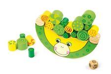 In legno bilanciamento Frog Kids apprendimento giocattolo-Gioco di impilaggio per Bambini Boy Girl