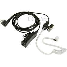 Police Earpiece Headset PTT Mic For Motorola Two Way Radio Walkie Talkie GP3688