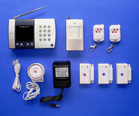 Advanced Wireless Home Security System With Auto-Dial