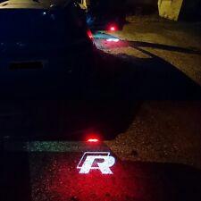 Led Light Door Projector R LINE HD For VW GOLF SCIROCCO TSI EOS CC TIGUAN PASSAT