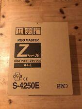 ONE ROLL - Risograph A4 Master Roll -  S4250E - RZ 200, 220, 300, 310 - Original