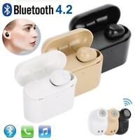 Mini Bluetooth 4.2 Earbuds Sport True Wireless Bass HIFI Stereo In-Ear Earphone