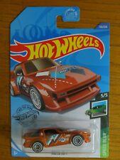 RARE 2020 Hot Wheels Speed Blur Mazda RX-7 Super Treasure Hunt Orange