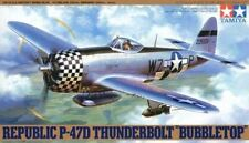 TAMIYA 61090 P-47D Thunderbolt Bubbletop 1:48 Aircraft Model Kit