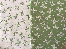 Lot de 2 tissus Motifs Assortis Patchwork chaque tissu 160 x40cm