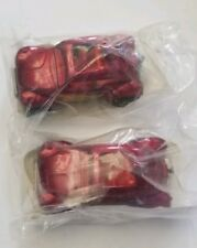 Hot Wheels VW Baja Blazin Bug Promotion Premium Burgundy Red Flames Lot Of Two