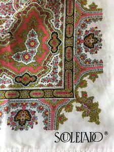 Souleiado vintage original French tablecloth