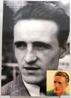 Albin Kitzinger + Fußball Nationalspieler DFB + Fan Big Card Edition B280 +