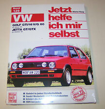 Reparaturanleitung VW Golf II GTi /16V / G60 - VW Jetta GT / GTX - ab 1984!