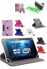 Universal 360 Rotatable Leather Stand Case Cover For Samsung Galaxy 7Inch Tab