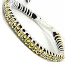 Pulseras de bisutería brazaletes color principal blanco