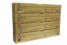 Genuine Konica Minolta TN619 Full Toner Set of 4 CMYK OEM BRAND NEW